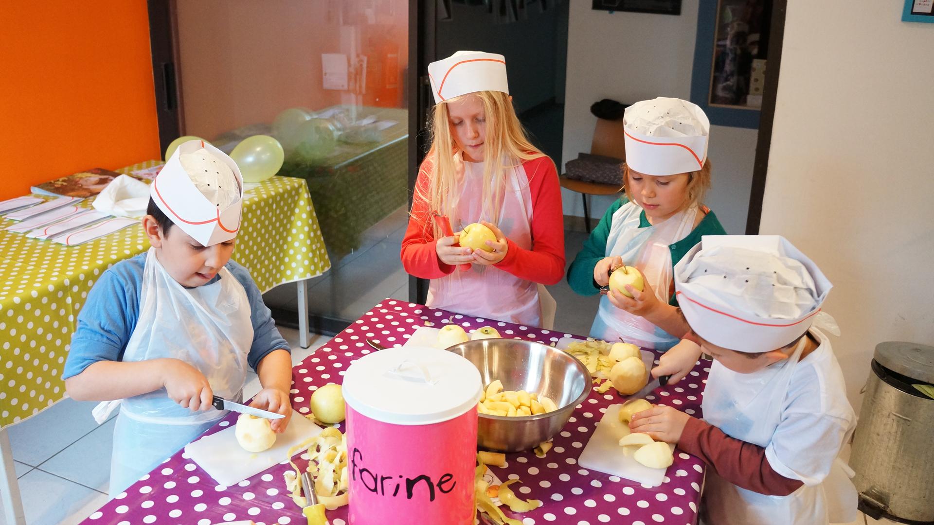 Les ptits cuistots la cuisine de nadjette - Les enfants en cuisine ...