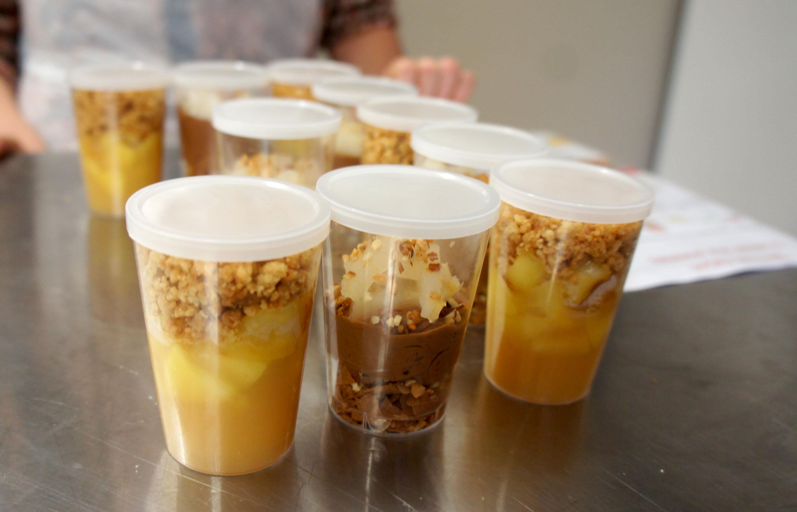 Atelier verrines sucr es la cuisine de nadjette for Atelier de la cuisine